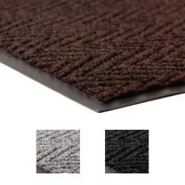 Notrax 118 Arrow Trax Entrance Mat, for Home or Office, 2' X 3' Brown