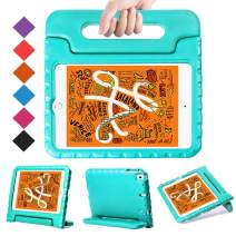 """BMOUO Kids Case for New iPad Mini 5 2019 /iPad Mini 4 2015 - Light Weight Shockproof Protective Convertible Handle Stand Case Cover for iPad Mini 5th Generation 7.9"""" 2019 (Latest Model) - Turquoise"""
