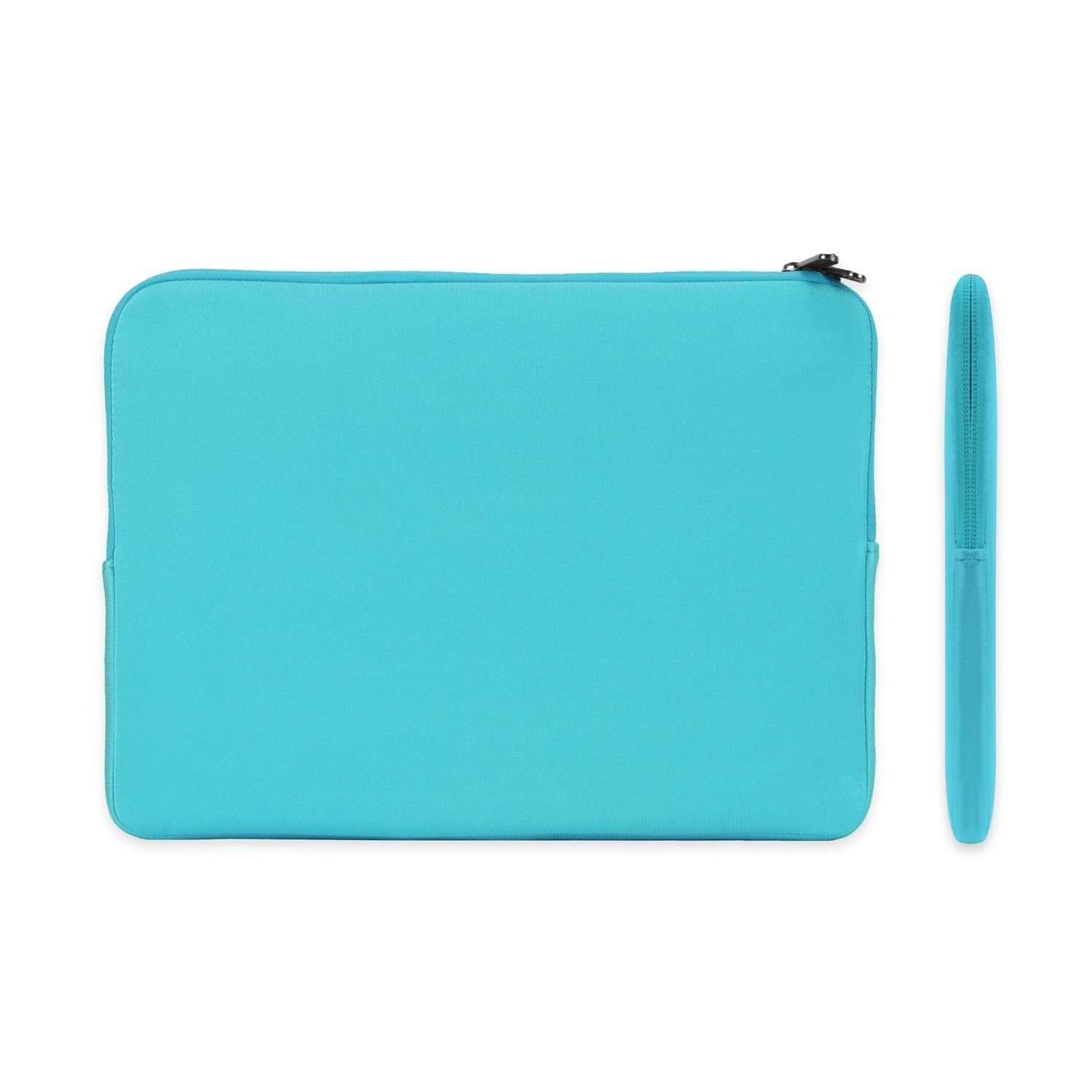"""TOP CASE - Zipper Sleeve Bag Case Compatible with MacBook Air 13"""" Retina Display and Touch ID A1932 (2018 Release) & MacBook Pro 13"""" A1989 / A1706 / A1708 (Release 2018, 2017, 2016) - Aqua Blue"""