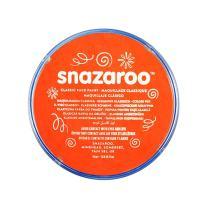 Snazaroo Classic Face and Body Paint, 18ml, Dark orange, 6 Fl Oz