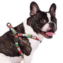 Snoopy Easy Walk Harness for Small Dogs and Large Breeds - Safe Adjustable Harness for Pets – Comfortable Dog Vest for Small and Large Breeds - Designed by Zoozpets, Snoopy Brand for Pets