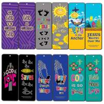 Awesome God Bookmarks for Kids (60-Pack) - Christian Stocking Stuffers Church Ministry - Bible Study Sunday School Supplies Teacher Classroom Incentive Gifts