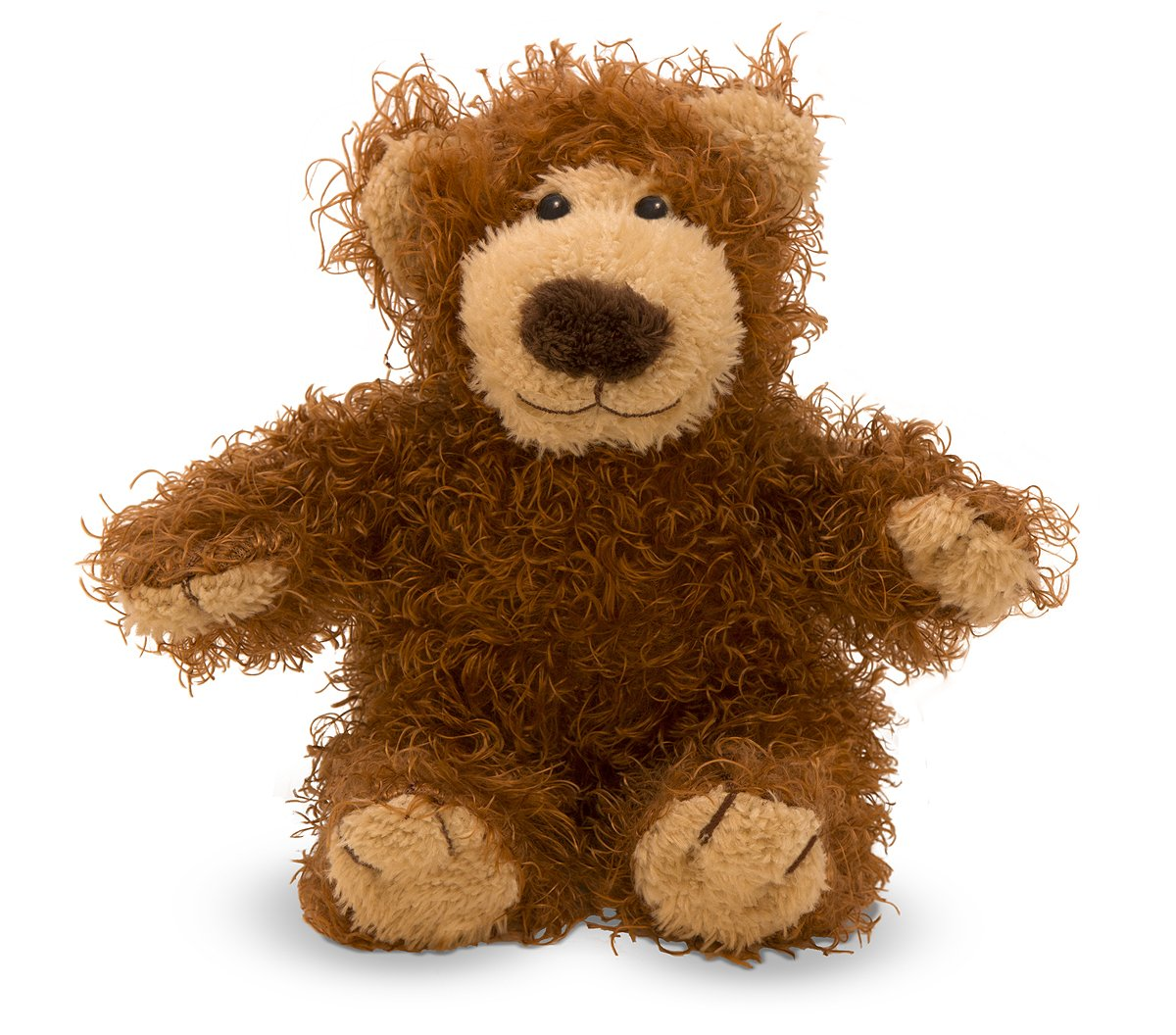 Melissa & Doug Baby Roscoe Bear - Teddy Bear Stuffed Animal Plush Toy (Great Gift for Girls and Boys - Best for Babies and Toddlers, All Ages)