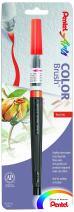 Pentel Arts Color Brush, Red, 1-Pack (GFLBP102)