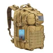 Prospo 40L Fishing Backpack Military Tactical Assault Daypack Molle Shoulder Bag Tackle Storage