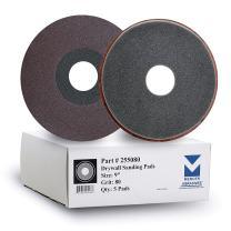 """Mercer Industries 255080 80 Grit Drywall Sanding Pads (5-Pack), 9"""""""