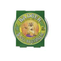 Badger - Anti-Bug Balm Tin, DEET-Free Mosquito Repelling Balm, Badger Balm Bug Repellent, Certified Organic Insect Repellent, 2 oz