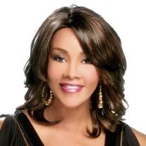 Vivica A. Fox AUTUMN-V Synthetic Fiber, PS Cap Wig in Color P42730