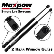 Maxpow 2X Rear Window Glass Auto Gas Spring Prop Lift Support Compatible With Honda CR-V 1997 1998 1999 2000 2001 4294 SG226010