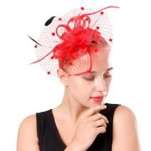 Fascinator Pillbox Hat for Women Tea Party Wedding Kenturky Derby