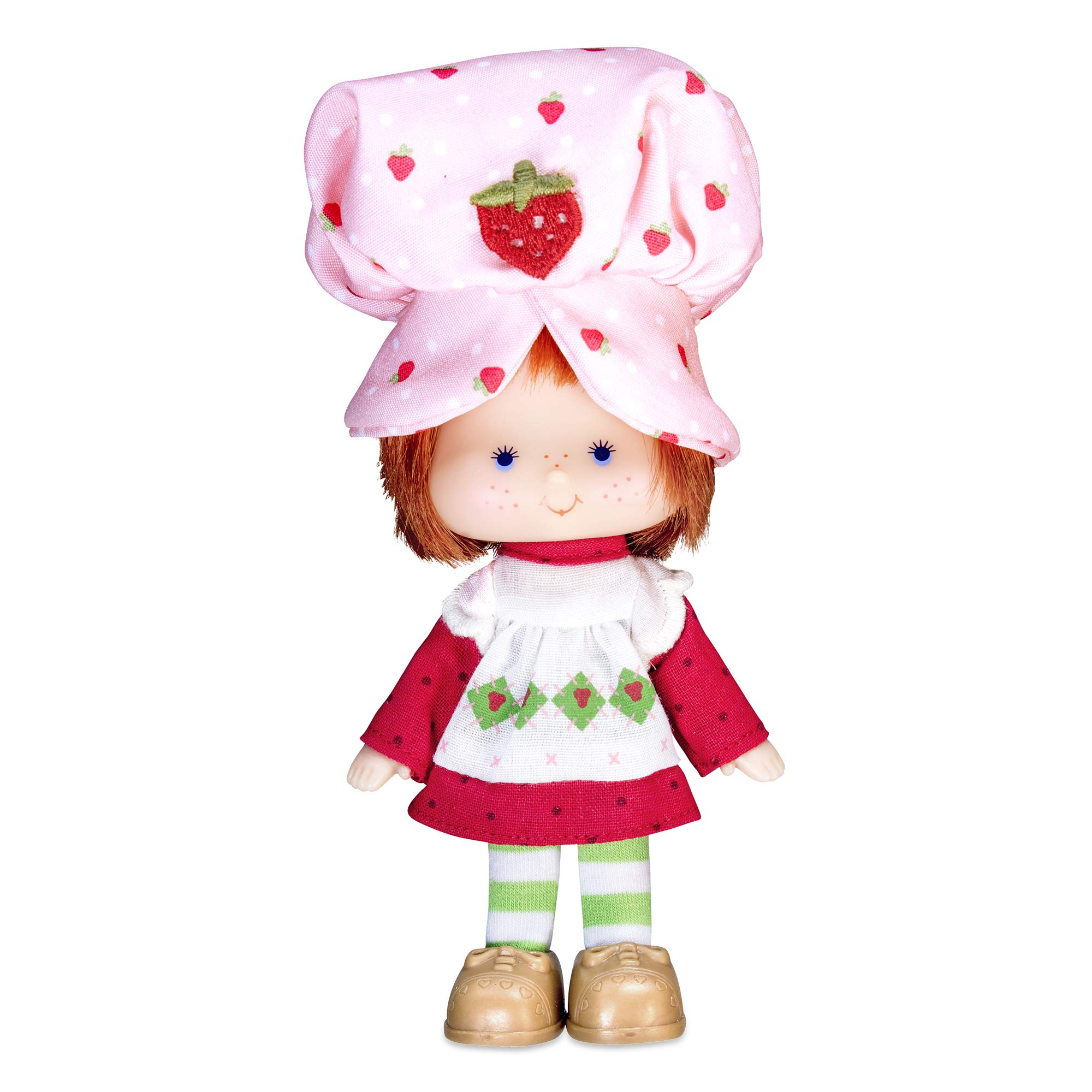 """Strawberry Shortcake Retro Classic Doll, 6"""", for 3 Years Old and Up, Styles May Vary"""