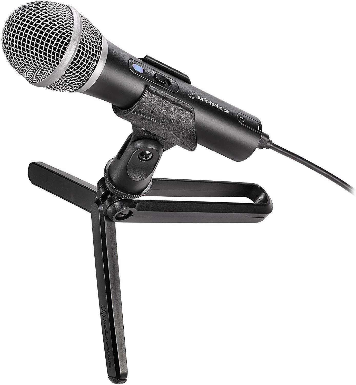 Audio-Technica ATR2100x-USB Cardioid Dynamic Microphone (ATR Series)