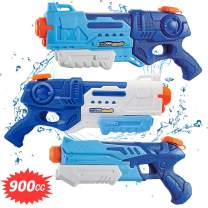 WTOR 3 Pack Super Water Guns Water Blaster Squirt Guns High Capacity Water Fighting Toy Summer Outdoor Swimming Pool Guns for Adults Kids Teens Boys Girls