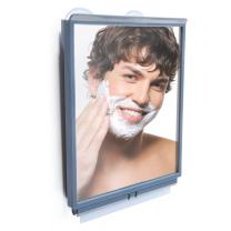 ToiletTree Products Fogless Shower Bathroom Mirror with Squeegee and Travel Bag