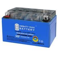 YTX7A-BSGEL - 12V 6AH 105 CCA - Gel SLA Power Sport Battery - Mighty Max Battery Brand Product