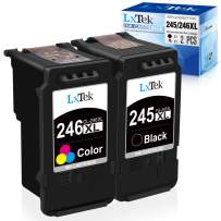 LxTek Remanufactured Ink Cartridge Replacement for Canon PG-245XL CL-246XL PG-243 CL-244 XL to use with Pixma MX492 MX490 MG2420 MG2520 MG2522 MG2920 MG2922 MG3022 MG3029 IP2820(1 Black + 1 Tri-Color)