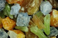 Fantasia Materials: 2 lbs AAA Grade Assorted Calcite Rough Stones from Mexico