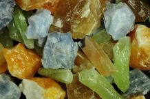 Fantasia Materials: 1 lb AAA Grade Assorted Calcite Rough Stones from Mexico