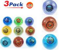 Planet Putty Galaxy Solar System Stress Slime (Pack of 3 Planet Assorted) by JA-RU. Metallic Colors Science Game Party Favors Toys for Girls & Boys. 5459-3p
