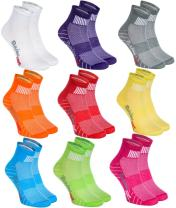 6,9 or 12 pairs of Cotton SPORT Athletic Socks, Multicolored For Mens and Womens