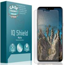 IQ Shield Matte Screen Protector Compatible with LG G8 ThinQ (Case Friendly)(2-Pack) Anti-Glare Anti-Bubble Film