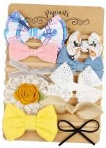 Baby Girl Headbands and Bows, Nylon Headbands, Hair Accessories for Newborn Toddler Girls