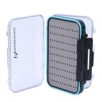 M MAXIMUMCATCH Maxcatch Two-Sided Waterproof Fly Box Easy Grip Foam Jig Fly Fishing Box Multiple Sizes