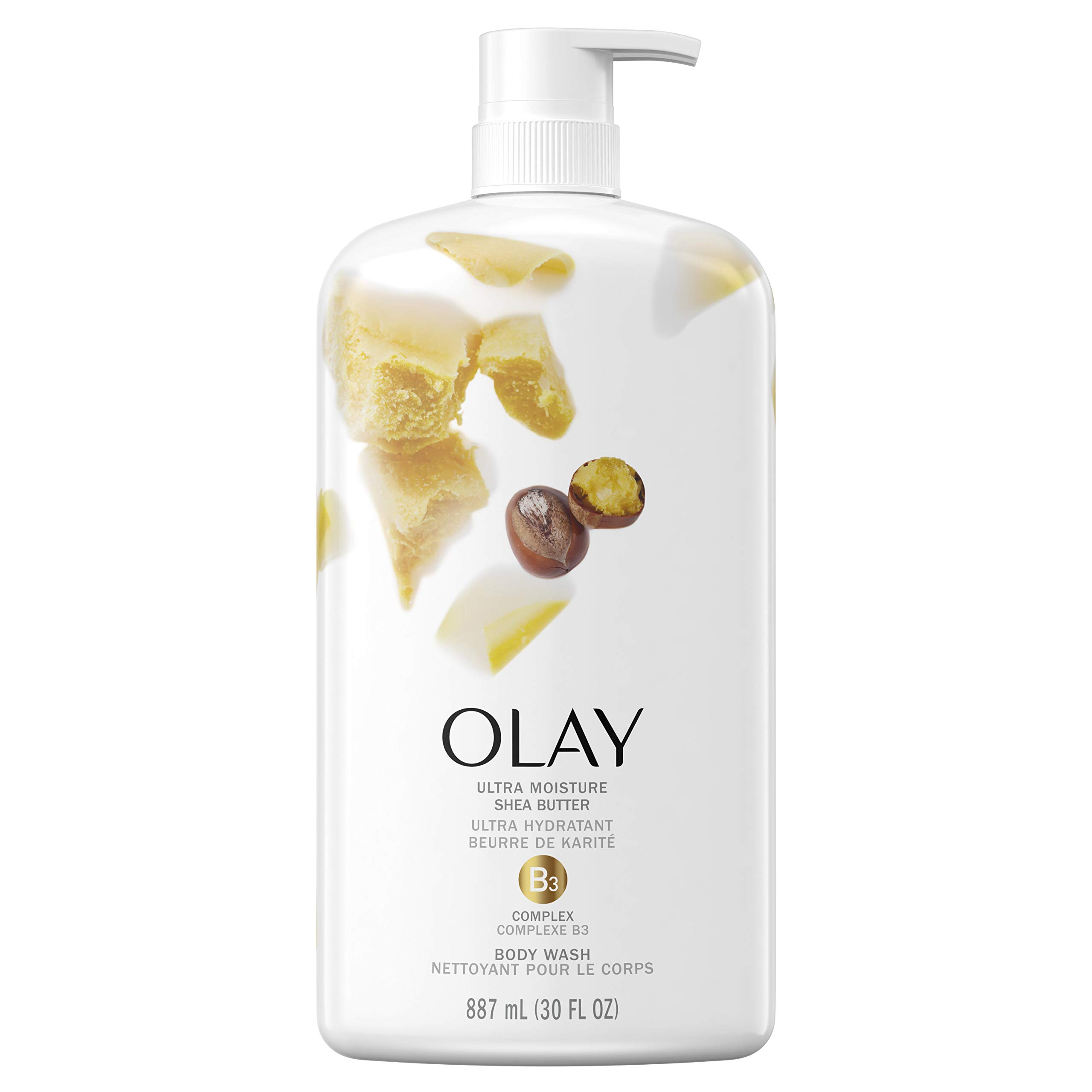 Olay Ultra Moisture Body Wash with Shea Butter, 30 fl oz