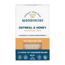 Wondercide Natural Pet Shampoo Bar for Dogs and Cats - Gentle, Plant-Based, Easy-to-Use with Essential Oils and Coconut Oil - Eco-Friendly, Biodegradable - 4 oz Bar