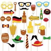 48Ct Oktoberfest Photo Booth Props German Beer Party Decorations Supplies