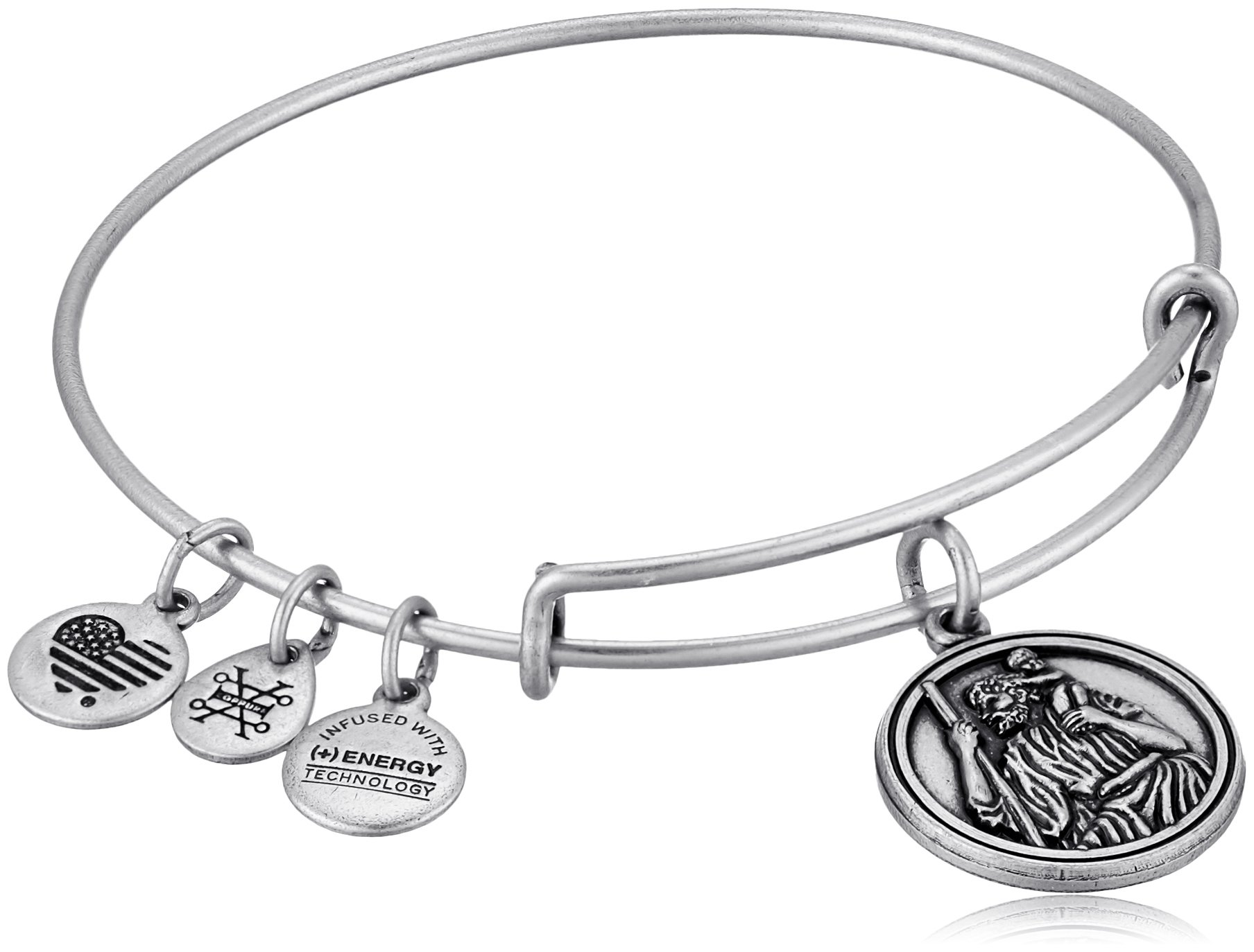 Alex and Ani Saint Christopher III EWB Bangle Bracelet