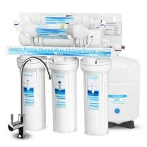 Geekpure 6-Stage Reverse Osmosis Drinking Water Filter System with Alkaline Mineral pH+ Remineralization Filter-NSF Certified Membrane Removes Up to 99% Impurities-Superb Taste High Capacity 75 GPD