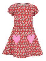 Unique Baby Girls Valentine's Day Shark Dress