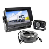 Backup Camera System with 7 inch Definition Display + IP69 Waterproof and Night Vision Reverse Camera for Truck, Trailer, RV, Motorhome etc.