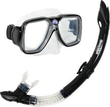 Deep Blue Gear Maui Diving Mask and Semi-Dry Snorkel Set