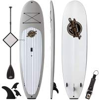 Premium Stand Up Paddle Board - 10'4 Anima SUP - Durable Soft Top Paddleboard