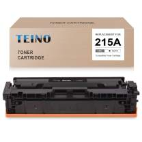 TEINO (No Chip) Compatible Toner Cartridge Replacement for HP 215A W2310A use with HP Color Laserjet Pro MFP M182nw MFP M183fw M255dw (Black, 1-Pack)