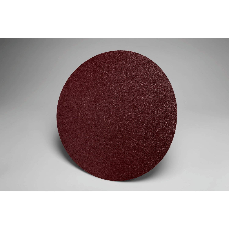 3M PSA Cloth Disc 348D, 40 X-weight, 12 in x NH, Die 1200B