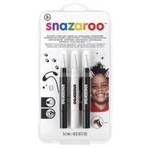 Snazaroo Face Paint Brush Pen, Monochrome