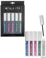 Style Essentials Metallic Eyes Peel Off Liquid Eyeliner - Set of 5 Liquid Metallic Liners