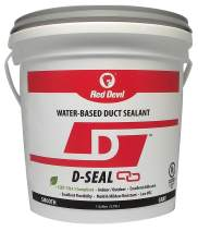 Red Devil 0841DI D-Seal Smooth Water Based Duct Sealant, 1 Gallon, Gray