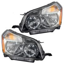 Replacement Driver and Passenger Set Headlights Compatible with 2009 2010 Vibe 88975714 88975713