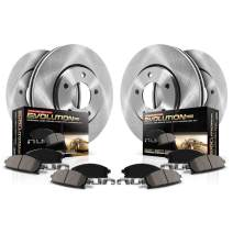 Autospecialty (KOE4467) Daily Driver OE Brake Kit, Front and Rear