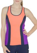 MooMotion Womens Racerback Tri Top - Built in Bra - Back Pocket - Womens Triathlon Top - Made in The USA