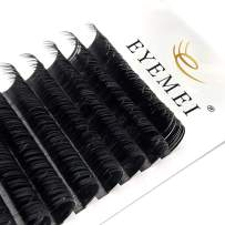 Eyelash Extensions Supplies Classic Silk Lash Extensions 0.15/0.20 C/D/DD 8-15mm Natural Semi Permanent Eyelashes Matte Black Individual Lashes Salon Use Classic Lash Extension(0.15C-Mix 8-15mm)
