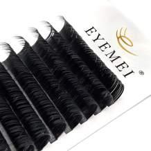 Eyelash Extensions Supplies Classic Silk Lash Extensions 0.15/0.20 C/D/DD 8-15mm Natural Semi Permanent Eyelashes Matte Black Individual Lashes Salon Use Classic Lash Extension(0.15C-Mix 8-15mm)