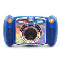 VTech Kidizoom Duo Selfie Camera, Amazon Exclusive, Blue, Great Gift for Kids, Toddlers, Toy for Boys and Girls, Ages 3, 4, 5, 6, 7, 8, 9