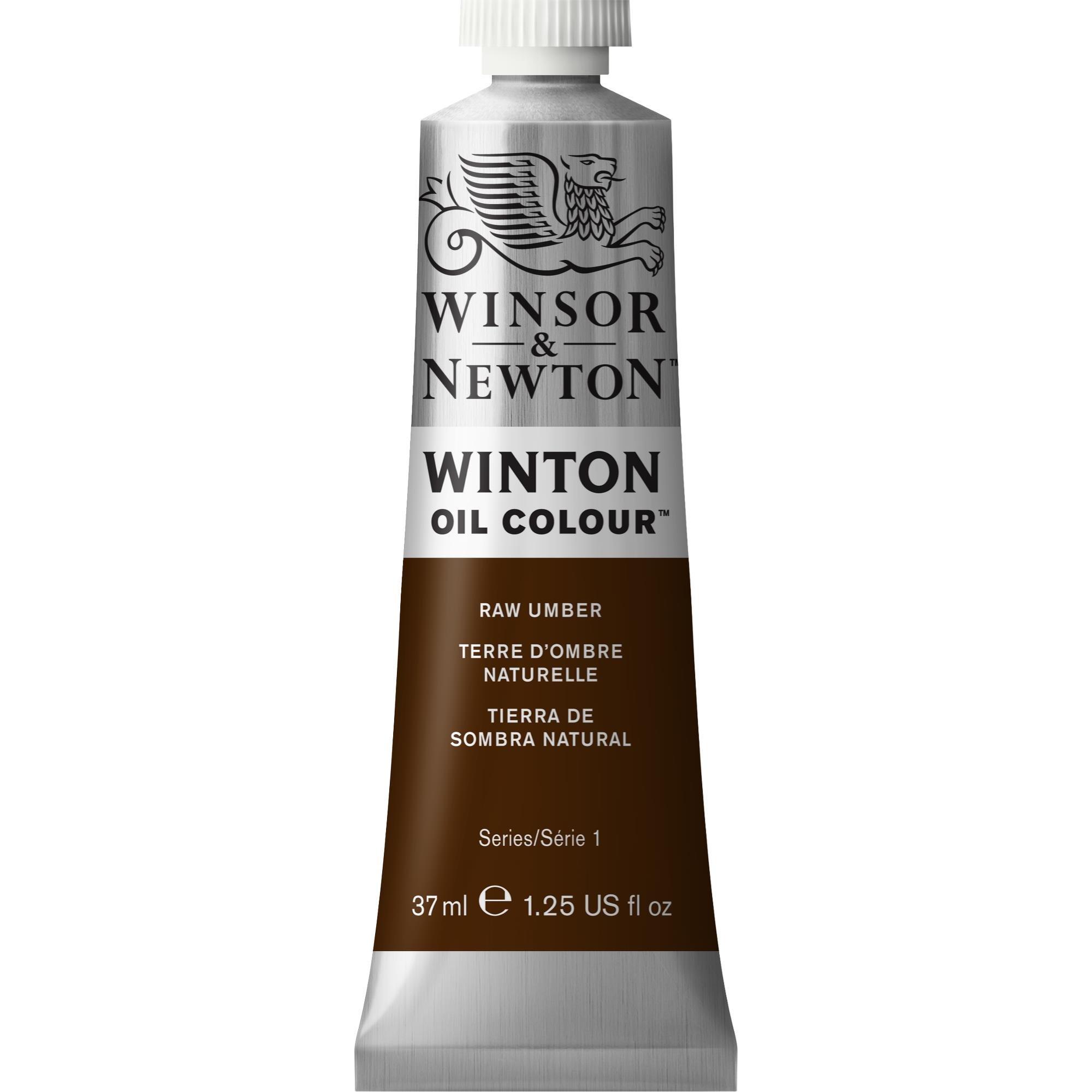 Winsor & Newton Winton Oil Colour Paint, 37ml tube, Raw Umber