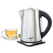 Ivation Precision-Temperature Electric Hot Water Tea Kettle Pot 1.7 Liter (7-Cup), 1500 Watt, Stainless Steel Cordless, 6 Preset Variable Heat Settings for Tea, Coffee or Baby Formula