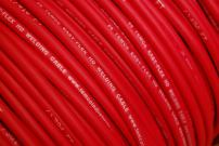 TEMCo WC0161-5 ft 6 Gauge AWG Welding Lead & Car Battery Cable Copper Wire RED | MADE IN USA
